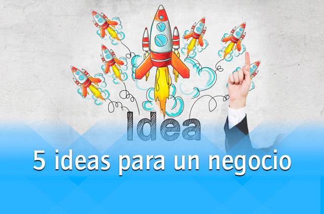 Quieres Emprender Te Damos 5 Buenas Ideas Mi Propio Jefe